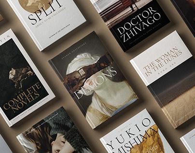 Book Cover Design Template - BUNDLE