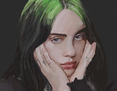 Billie Eilish Portrait