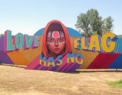 LOVE HAS NO FLAG • BOOM FESTIVAL 2018