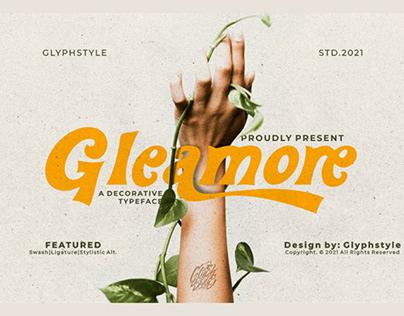 FREE | Gleamore Decorative Sans Serif