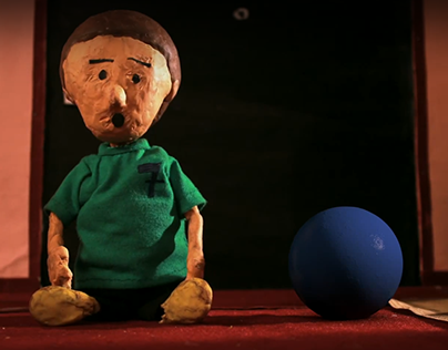 The Ball | stop motion animation