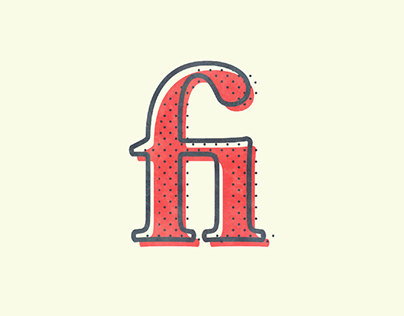 Ligatures // Type and Colour