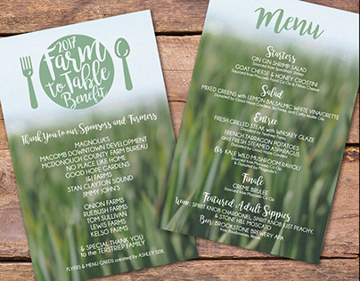 2017 Farm to Table Benefit