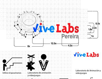 signage design for Vivelab Pereira
