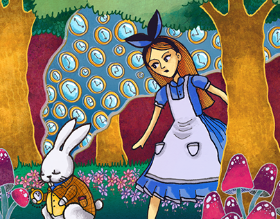 Propuesta portada de revista White Rabbit: ESLA (2016)
