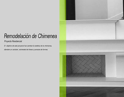 Remodelación de Chimenea Año 2018