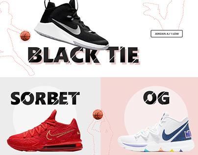 Footlocker website re-design