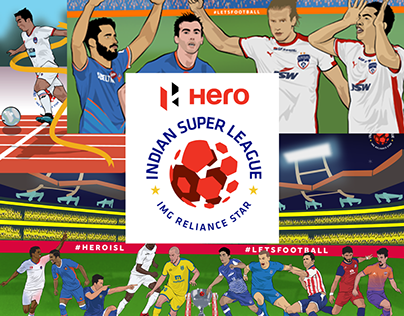 Illustrations for Indian Super League