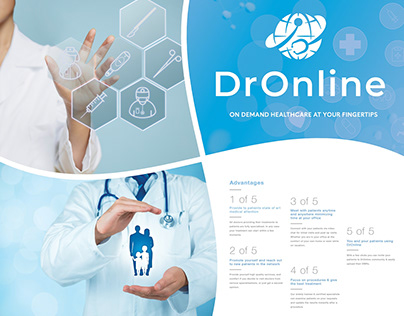 Dr Online Stand and Graphic Design