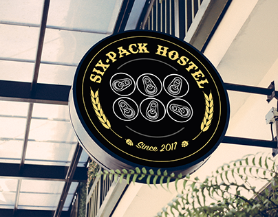 Six-Pack Hostel - Branding