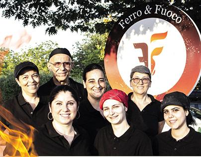 Ferro & Fuoco Restaurant - Rome. Brand Identity.