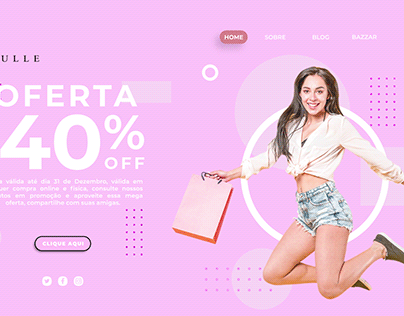 Landing Page Loulle Shoes