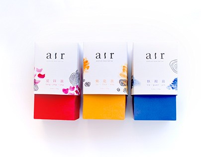 air tea packaging