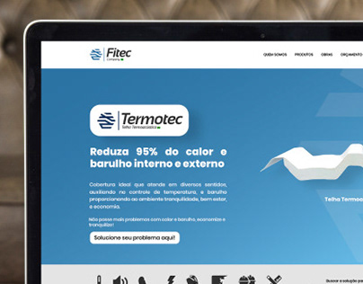 Layout Site Fitec Company