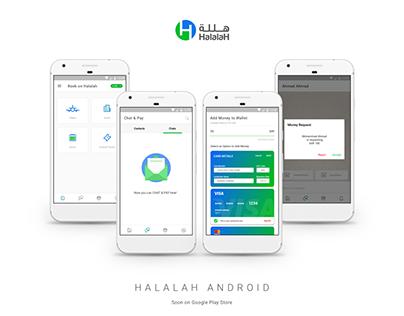 Halalah Android