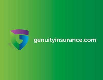 Logo Design for Genuity Insurance LLC