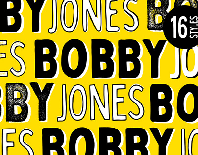 BOBBY JONES - FREE QUIRKY FONT