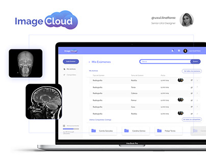 Image Cloud - DICOM images in your browser