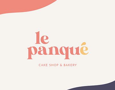 Le Panqué, Cake Shop & Bakery | Branding