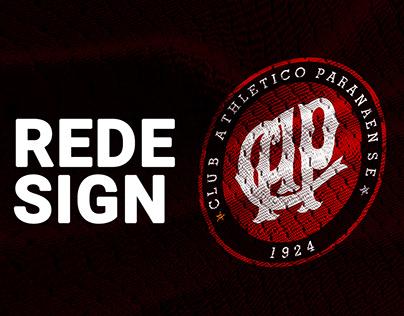 Redesign Club Athletico Paranaense