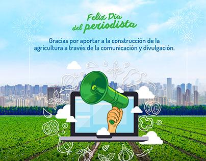 Día del periodista - Crop Life
