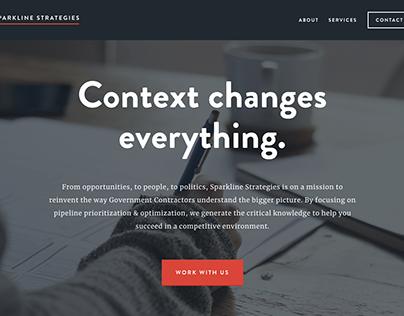 Sparkline Strategies Brand & Web Design