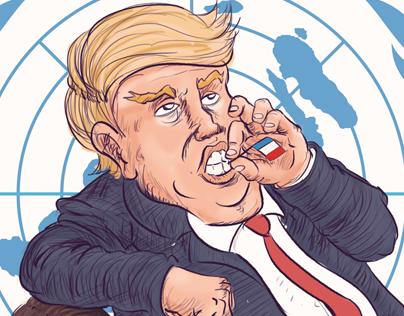 Caricatura Política - Gracias Sr. Presidente
