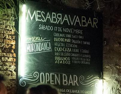 Pizarrón MESABRAVA