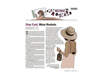 Stay cool , wear baskets