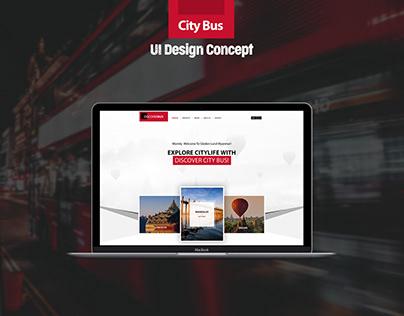 City Tour Bus Service UI Design Concept