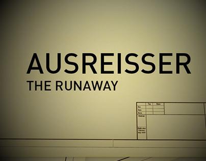Ausreisser / The runaway – title design