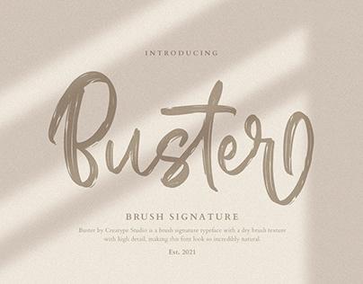 BUSTER BRUSH SIGNATURE - FREE FONT