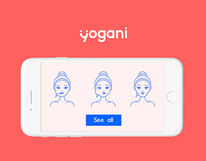 Yogani - animated face yoga app