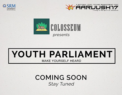 Aaruush'17 Youth Parliament