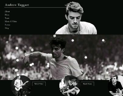 Celebrity Web Template