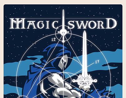 Magic Sword. NYC 2017 Poster.