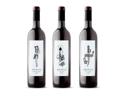 Melville Wines Packaging and Naming