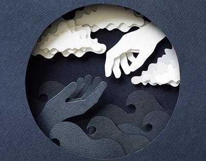 Love | Paper art