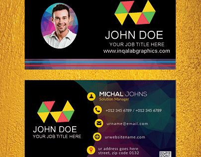coreldraw business card template