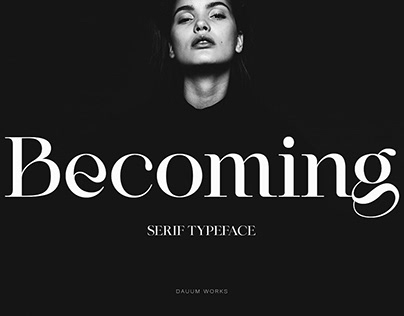 Modern Serif Typeface