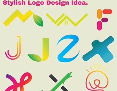 Logo folio, 10 creative modern stylish logo design idea