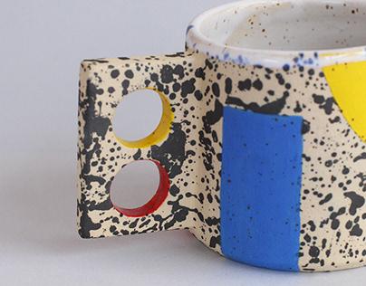 BAUHAUS mug Stoneware