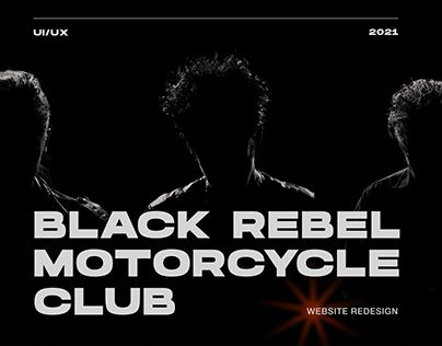 Black Rebel Motorcycle Club — website redesign