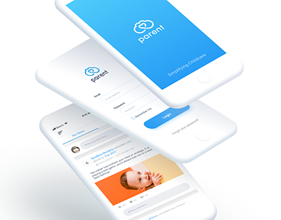 Parent ApS Website & Mobile App Redesign
