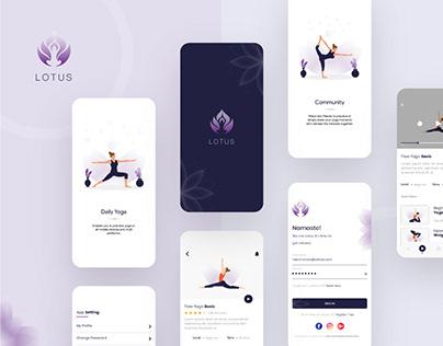 Yoga & Meditation App Design