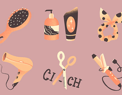 Small illustrations - spot and icons