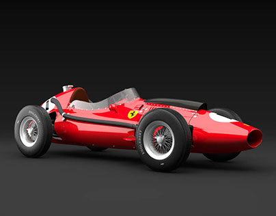 Ferrari Dino 246 F1 3D