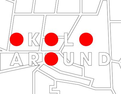 Okolo / Around Visual Identity