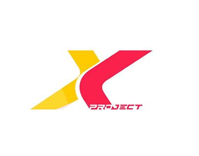 X logo animation