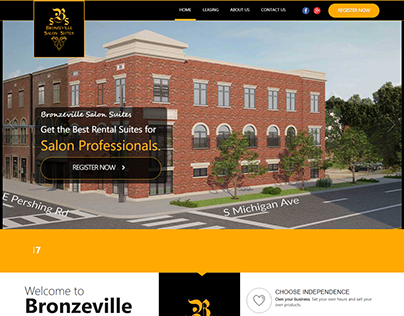 Responsive Website for Real Estate & Commerce flourish
